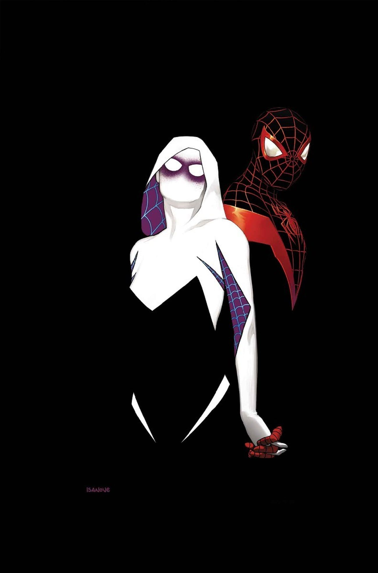 Spider-Gwen and Miles Morales's Mutual Spidey Crush Is Now