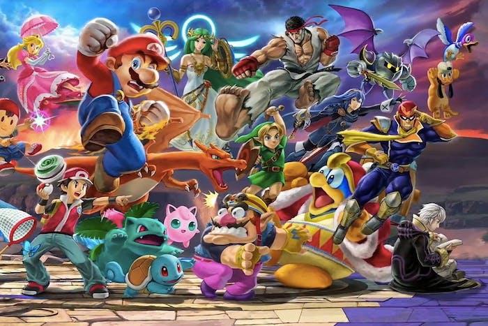 super smash bros ultimate character list roster