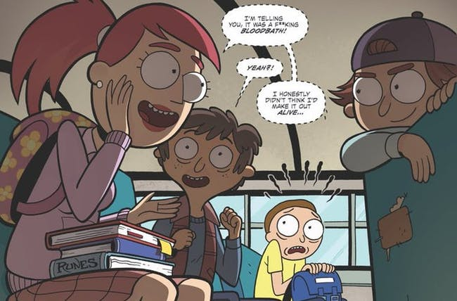 'Rick and Morty vs. Dungeons & Dragons' Comic