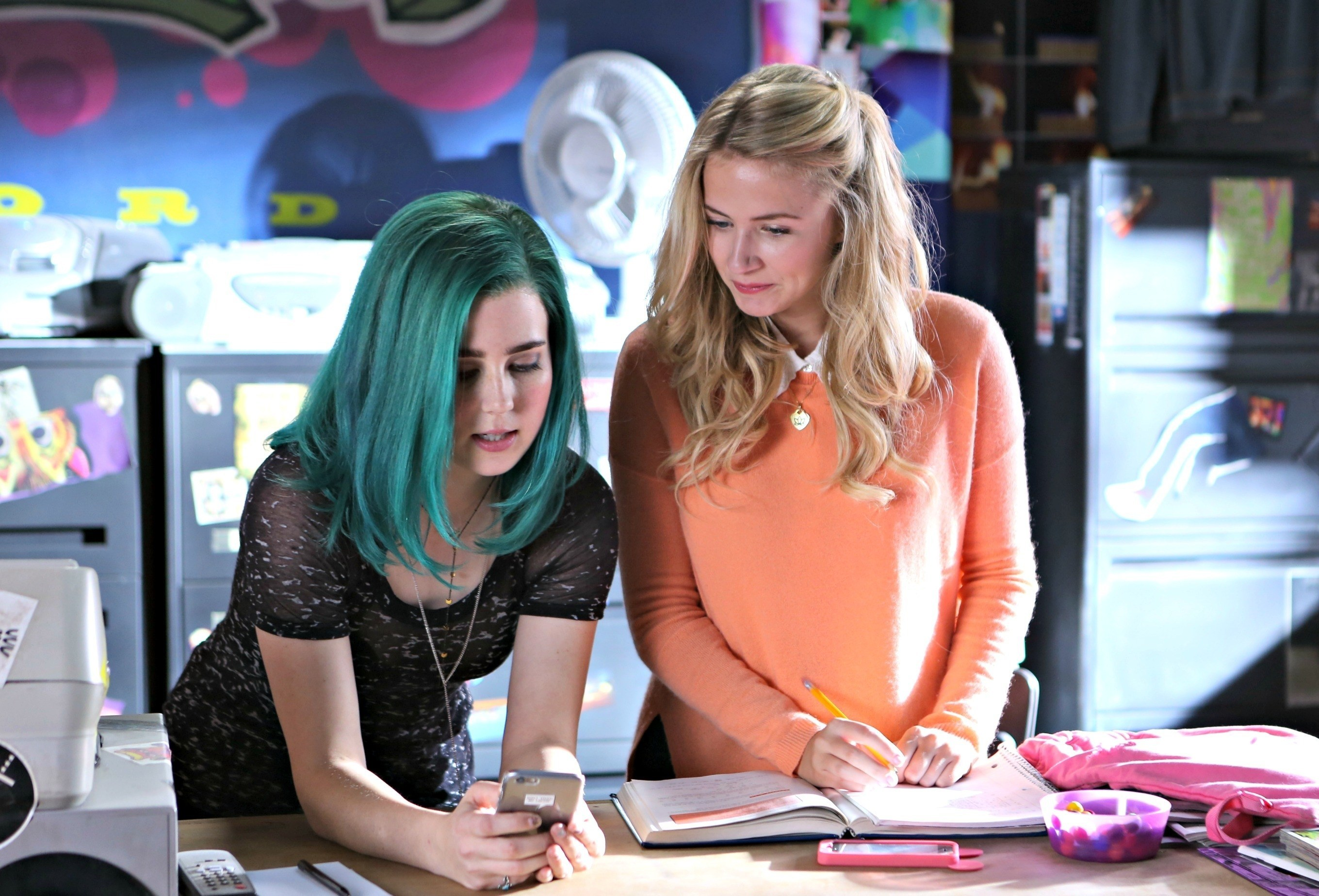 Ophelia and Jules, the main characters of MTV's 'Sweet/Vicious.'
