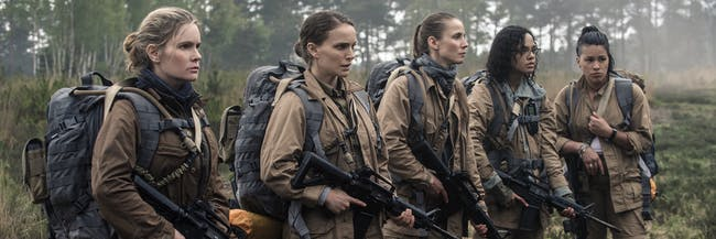 'Annihilation' is starting to look more and more like 'Alien: Covenant'.