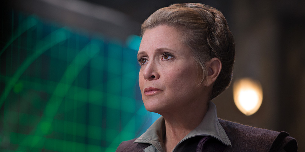 And it totally explains why Leia is so badass. She has a super awesome female role model.