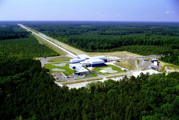 LIGO's Livingston Observatory.