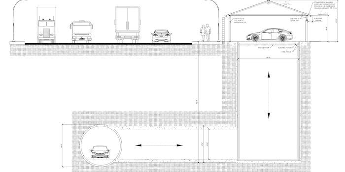 The Boring Company's tunnel design