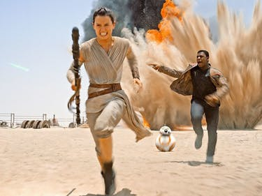 Rey and Finn Weren't Always BFFs in 'The Force Awakens'