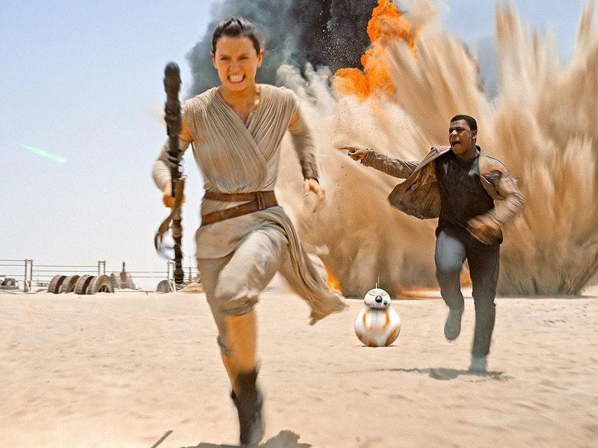 Rey and Finn Weren't Always BFFs in 'The Force Awakens'