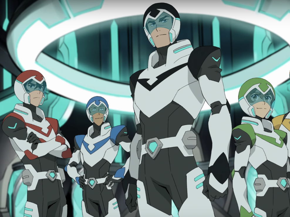First Trailer for Netflix's 'Voltron: Legendary Defender' Is '80s Kids Heaven