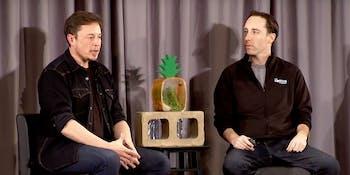 Elon Musk with Gary