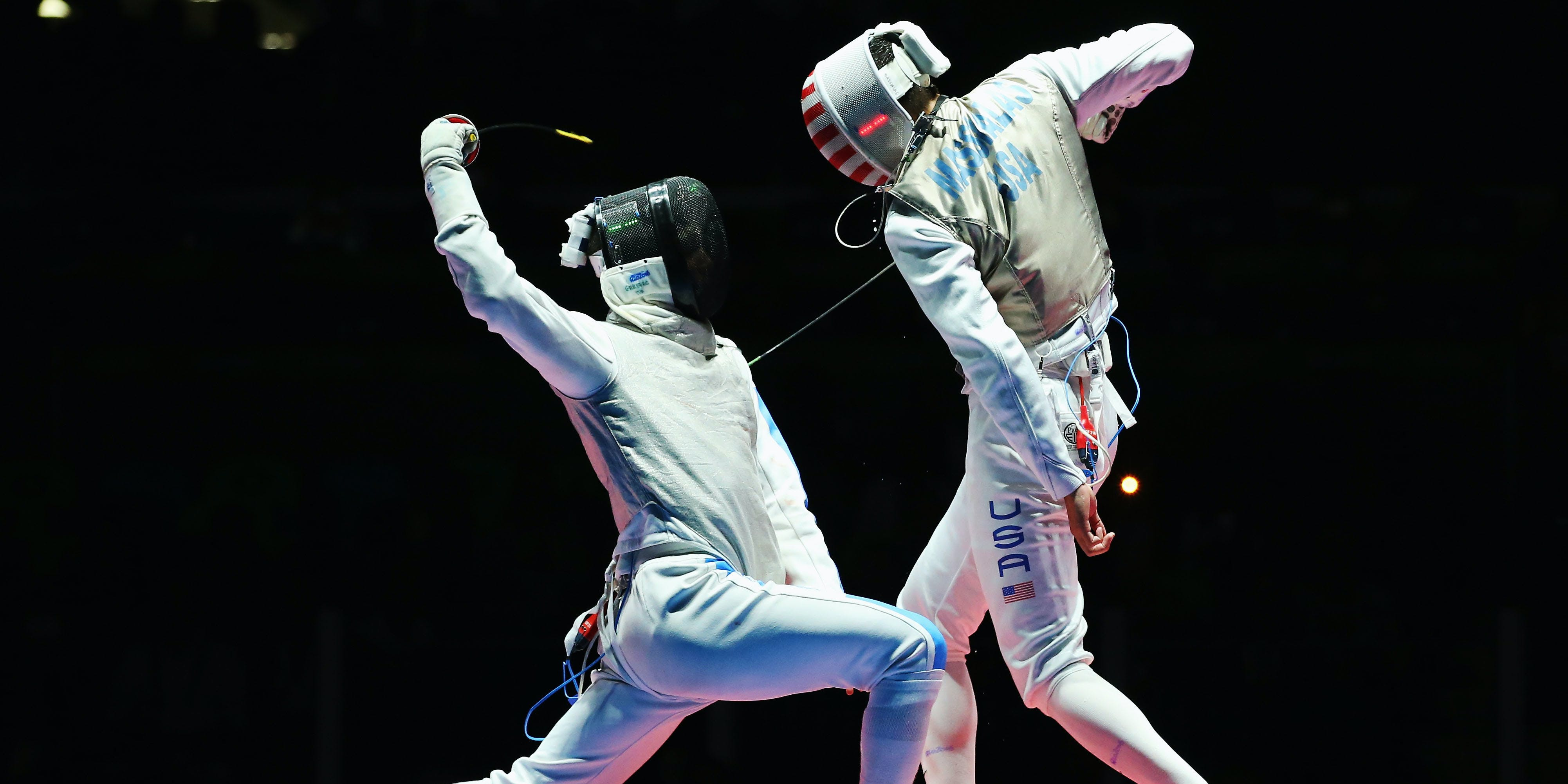 You're Watching Olympic Fencing Wrong