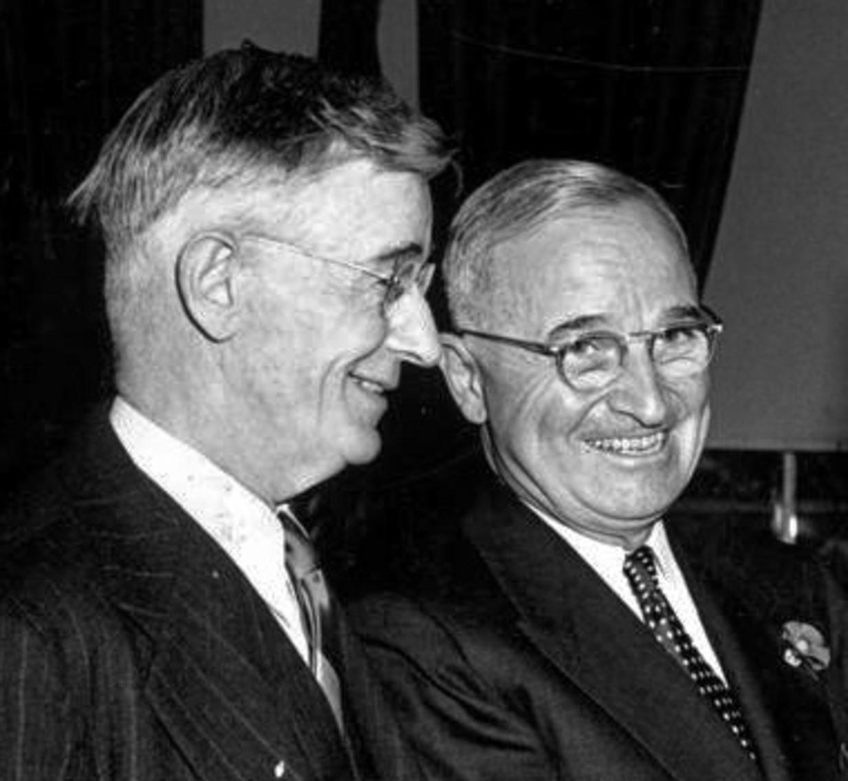 Vannevar Bush had the ear of President Truman