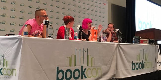 Cory Doctorow, Annalee Newitz, Charlie Jane Anders, and John Scalzi discuss resistance in science fiction