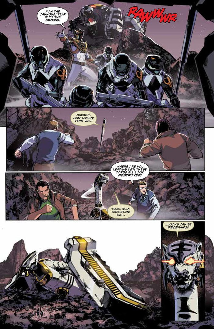 Power Rangers White Ranger comics