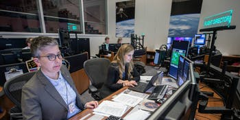 NASA Mission Control flight directors