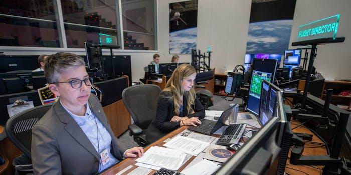 NASA Mission Control flight directors
