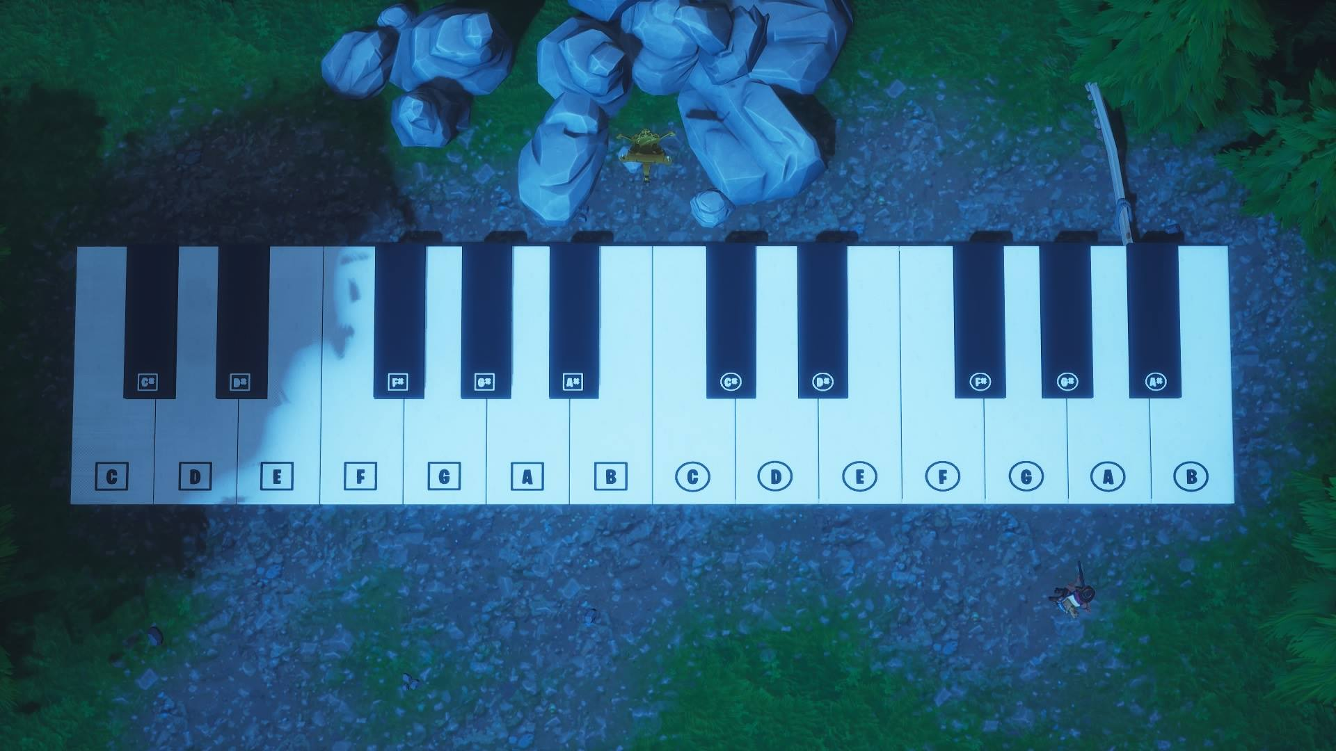 Fortnite' Sheet Music Location in Pleasant Park Retail Row