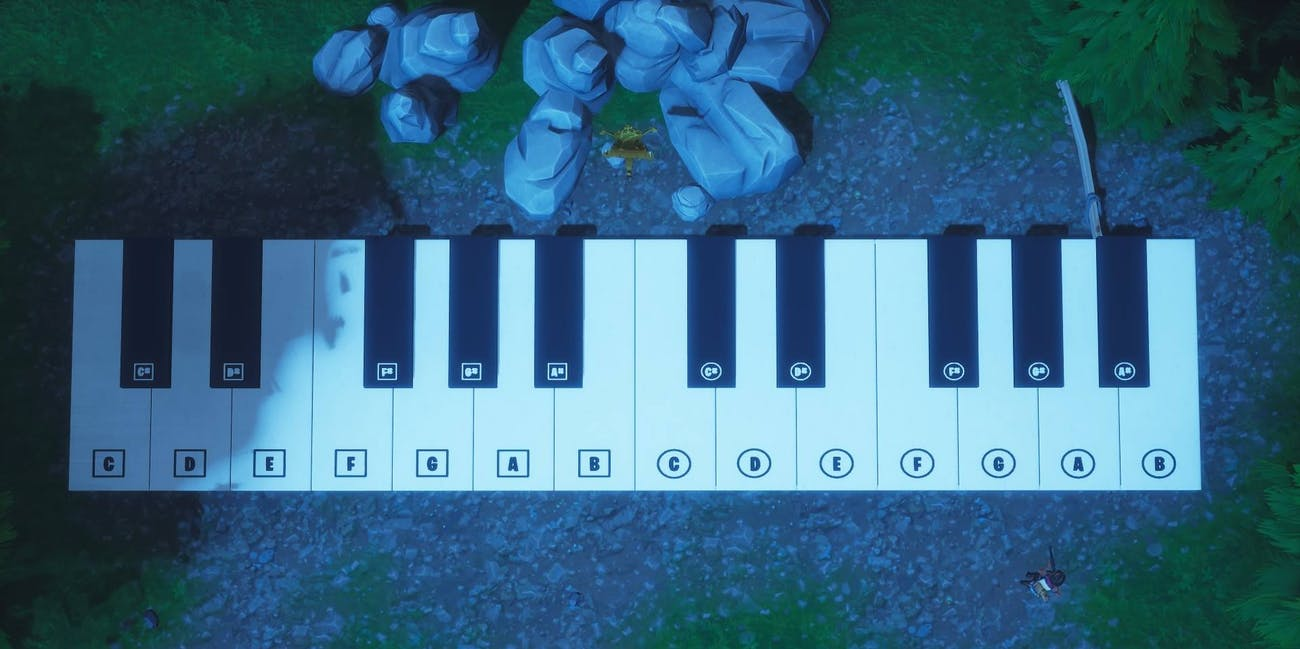 'Fortnite' Piano