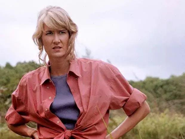Laura Dern in 'Jurassic Park'
