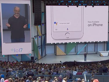 Google Assistant, now available on iPhone