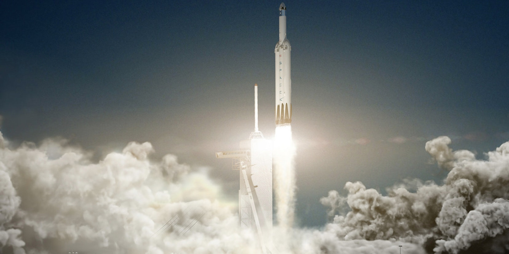 SpaceX says by late next year, the Falcon Heavy will launch two astronauts to the moon.