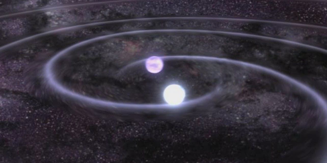 Neutron Star Merger and the Gravity Waves it Produces