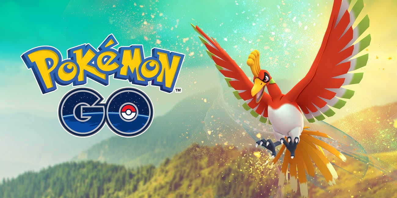 That's right: Ho-Oh is a new Raid boss in 'Pokémon GO'.