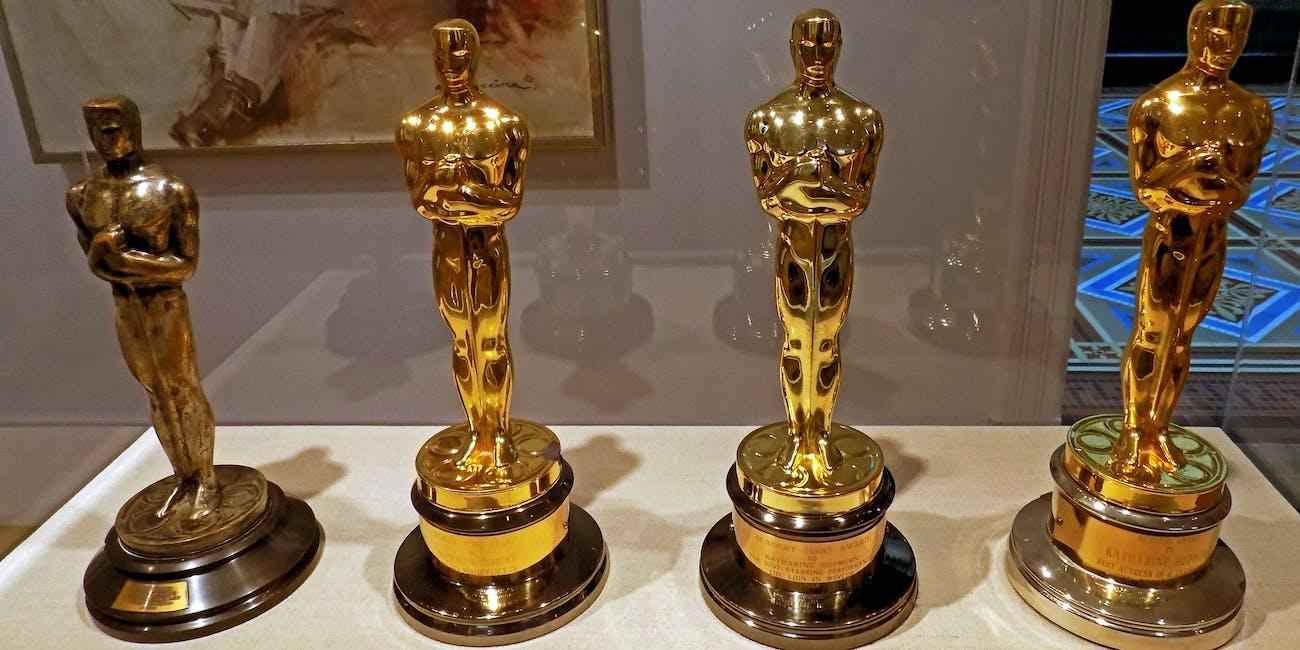 Hepburn's Four Oscars
