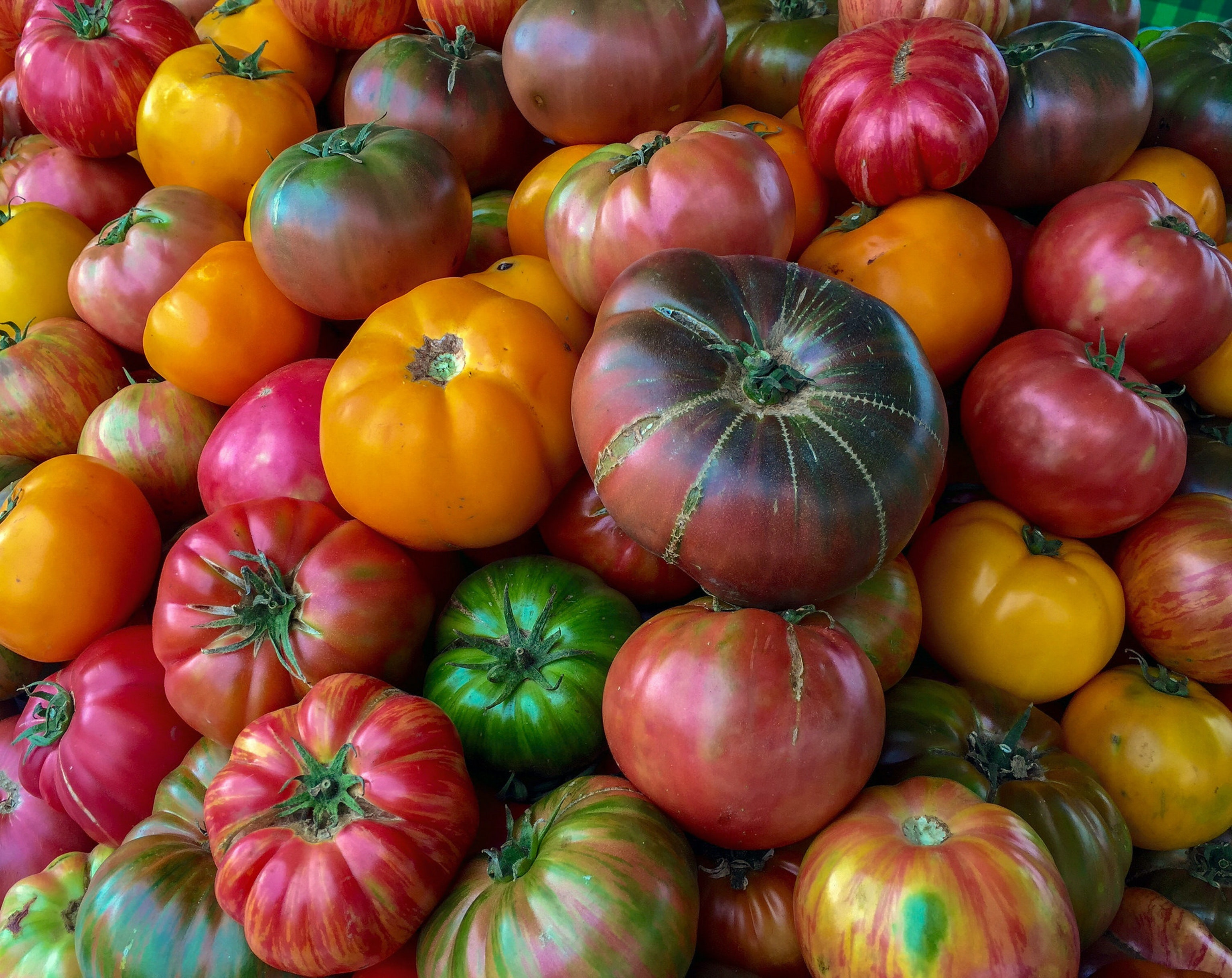 If you want these glorious organic heirlooms to keep their vibrant off-the-vine flavor, keep them out of the cold.