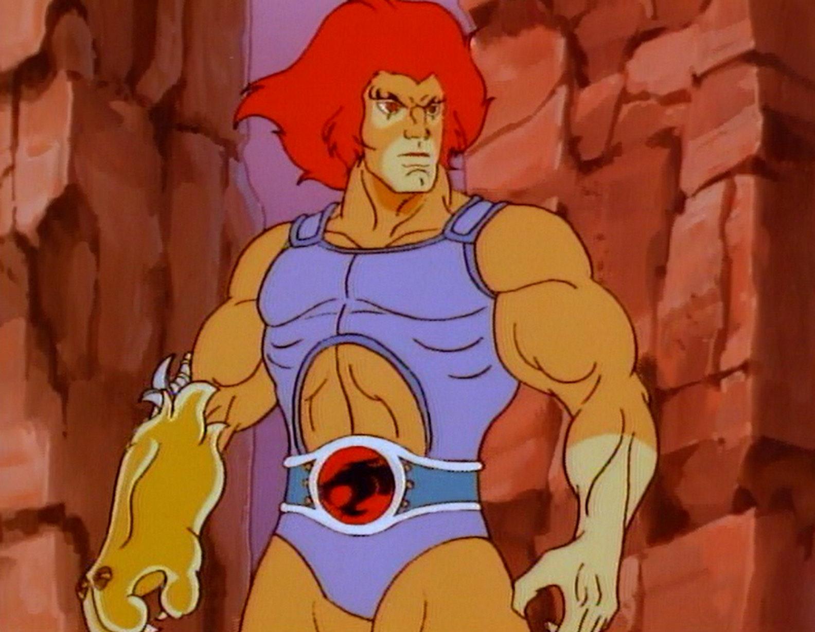 Lion-O, from 'Thundercats.'