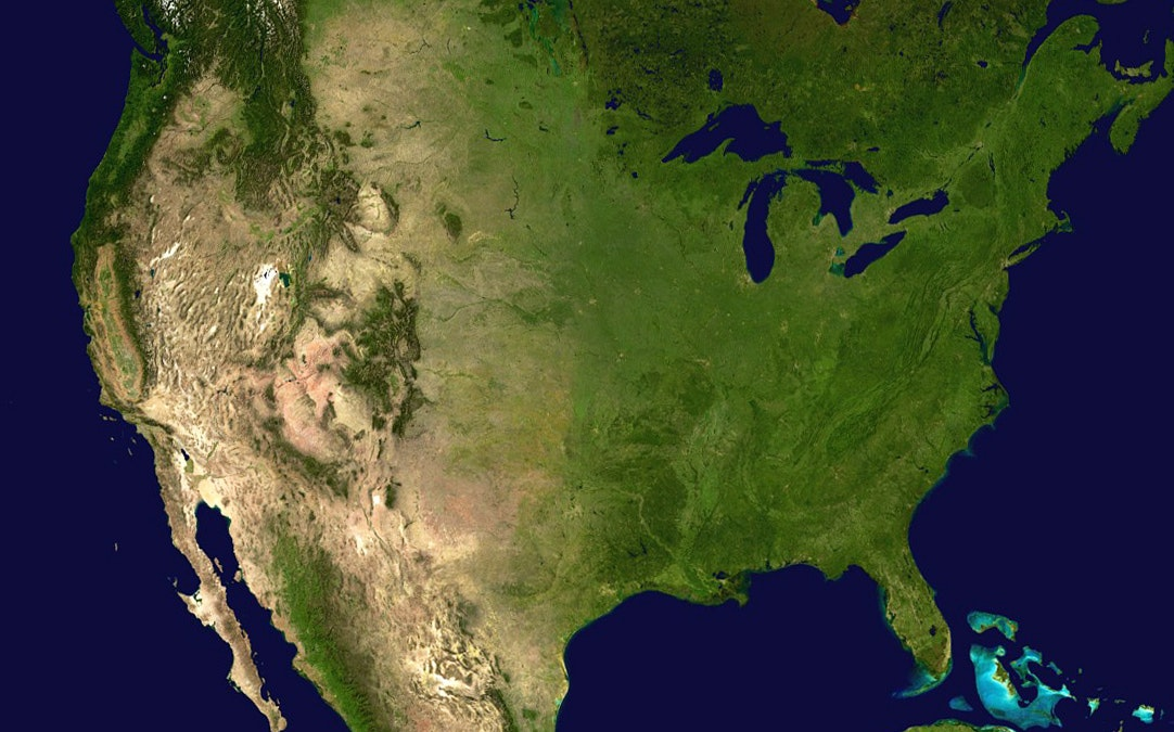 Map Of North America With States%0A Only Americans Struggle This Much to Confront Climate Change