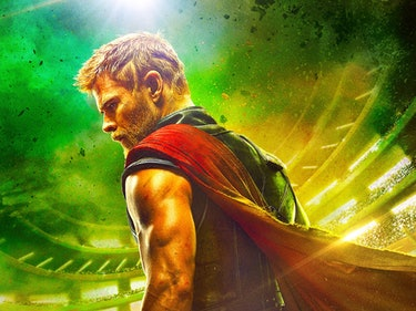 The 'Thor: Ragnarok' Poster Gives Off 'Gladiator' Vibes