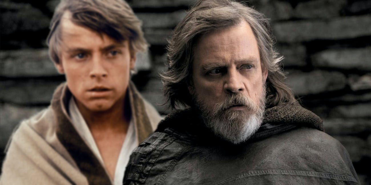 Luke old and young