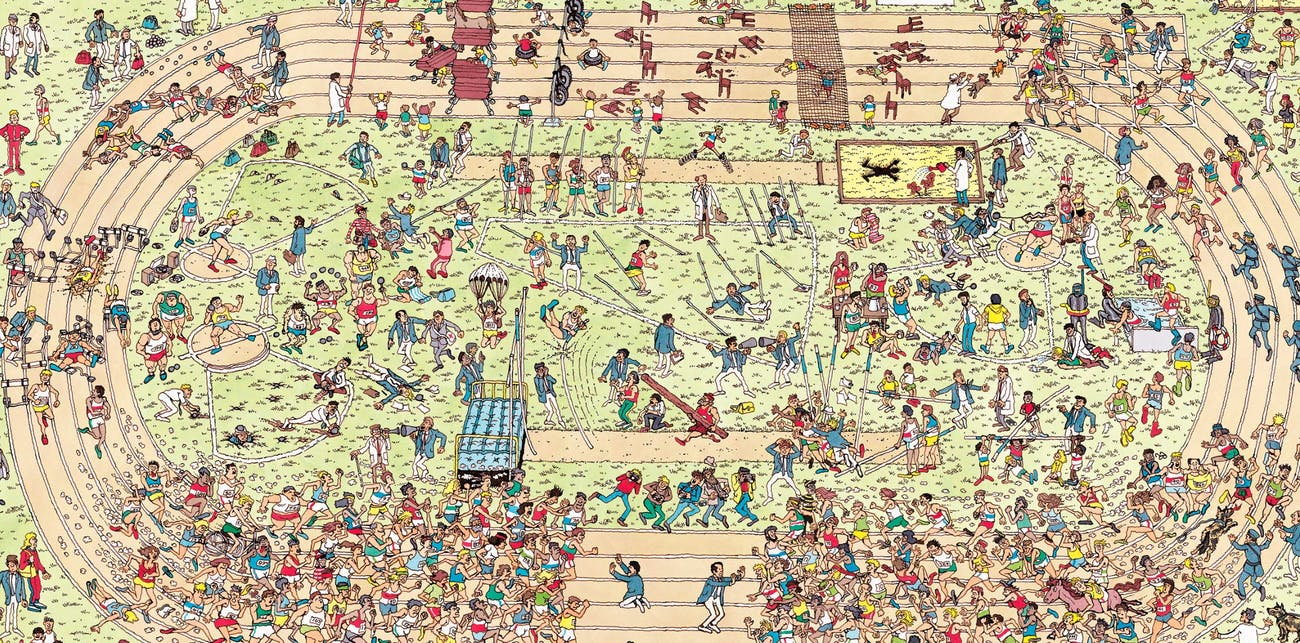 Where's Waldo Pyeongchang