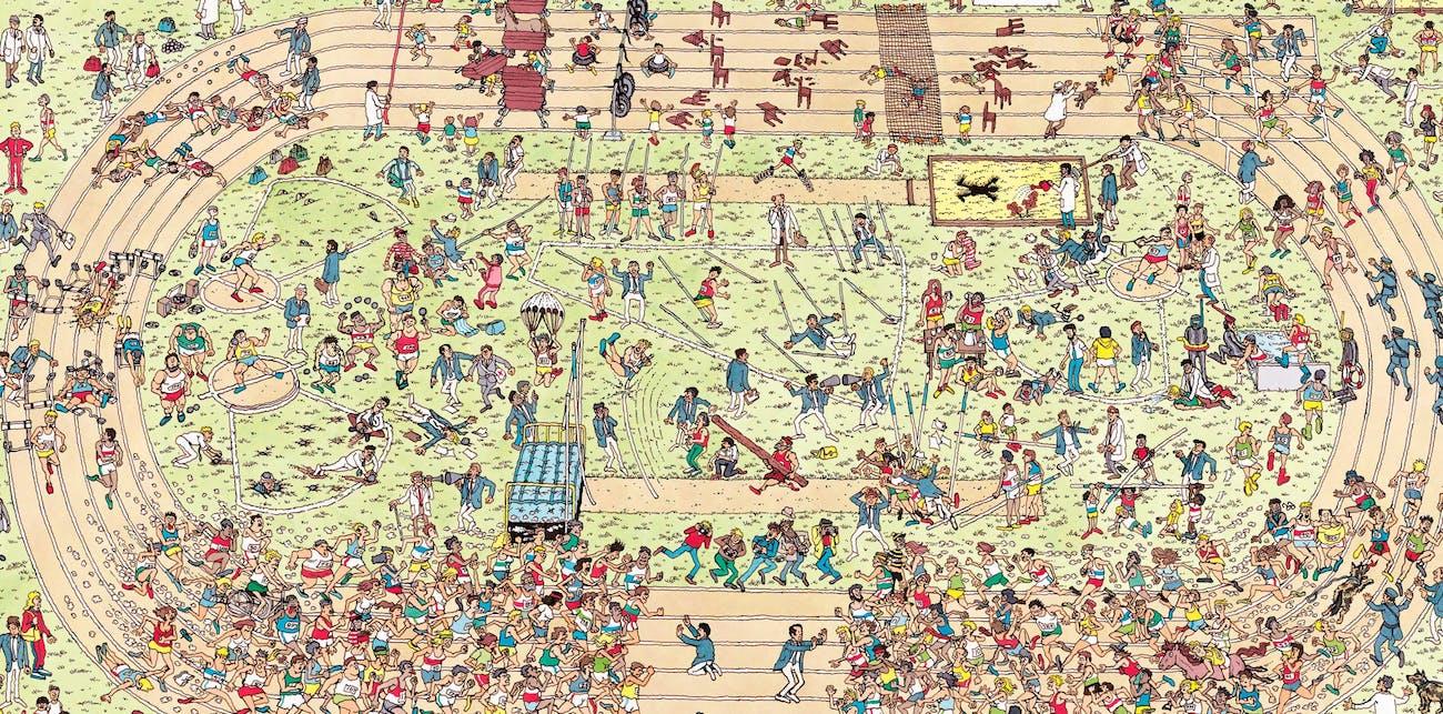 Where's Waldo Pyeongchang