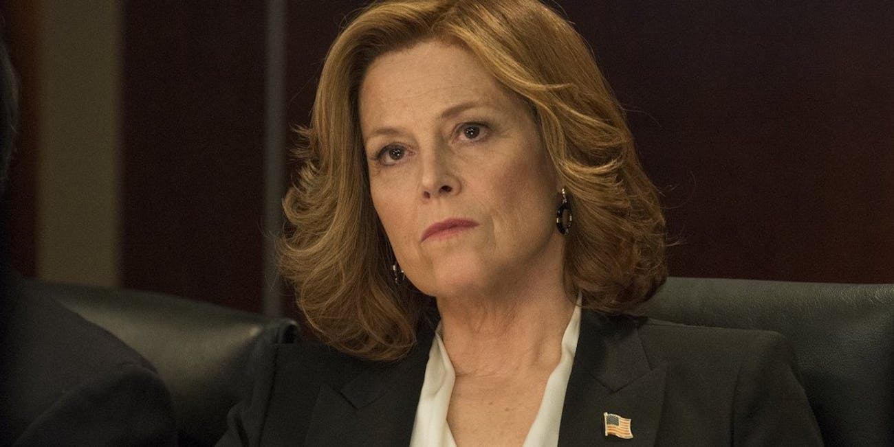 Sigourney Weaver's Defenders Villain Based on Rich Trump ... on huge wall maps of the world, sigourney weaver deal of the century, sigourney weaver the tv set, julianne moore movie a map of the world,