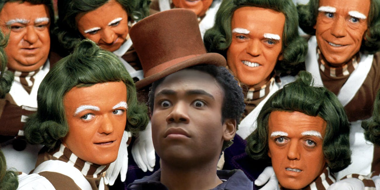 willy wonka prequel reboot donald glover