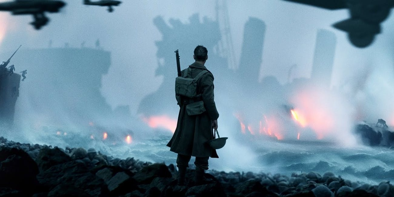 Dunkirk sound mixing Christopher Nolan psychology Shepard tone