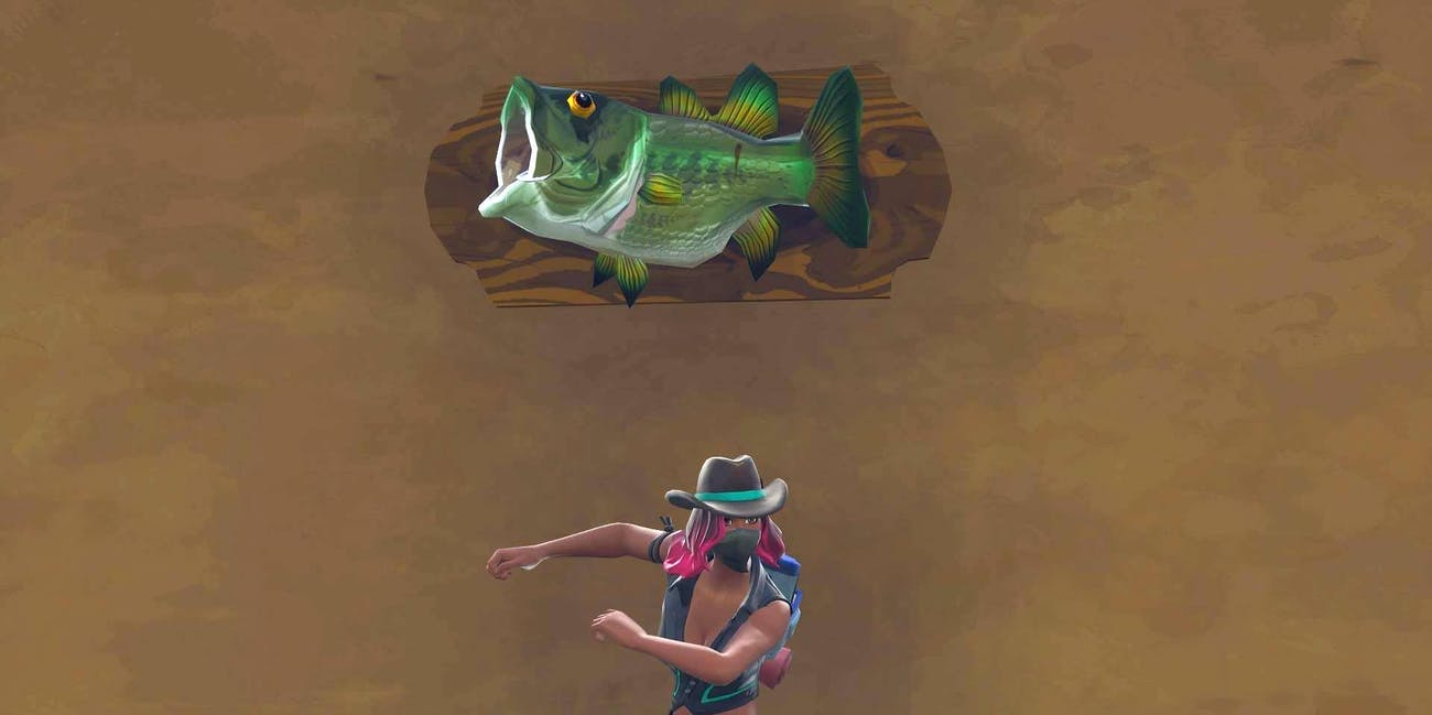 'Fortnite' Fish Trophy