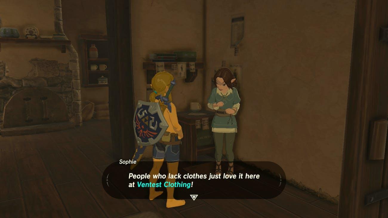 The Legend of Zelda Breath of the Wild Nintendo Switch Link