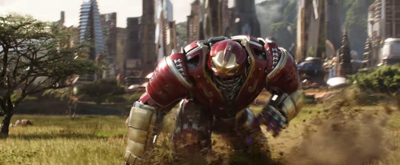 Hulkbuster Avengers Infinity War