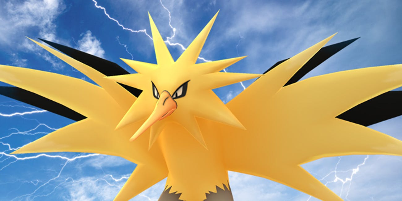 Pokemon GO Shiny Zapdos