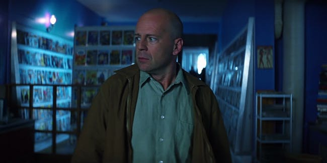 Unbreakable Bruce Willis Split