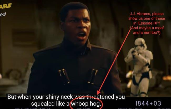 Deleted Scene from 'The Last Jedi'