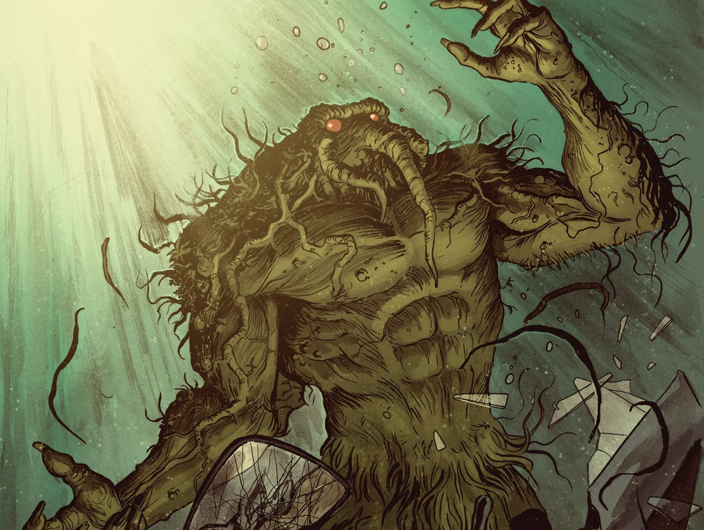 R.L. Stine's 'Man-Thing' Wants To Be In the MCU Real Bad