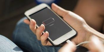 charging phone low batter