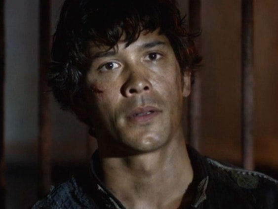 """Bellamy Blake in """"A Lie Guarded,"""" Season 4 episode 4 of """"The 100"""""""