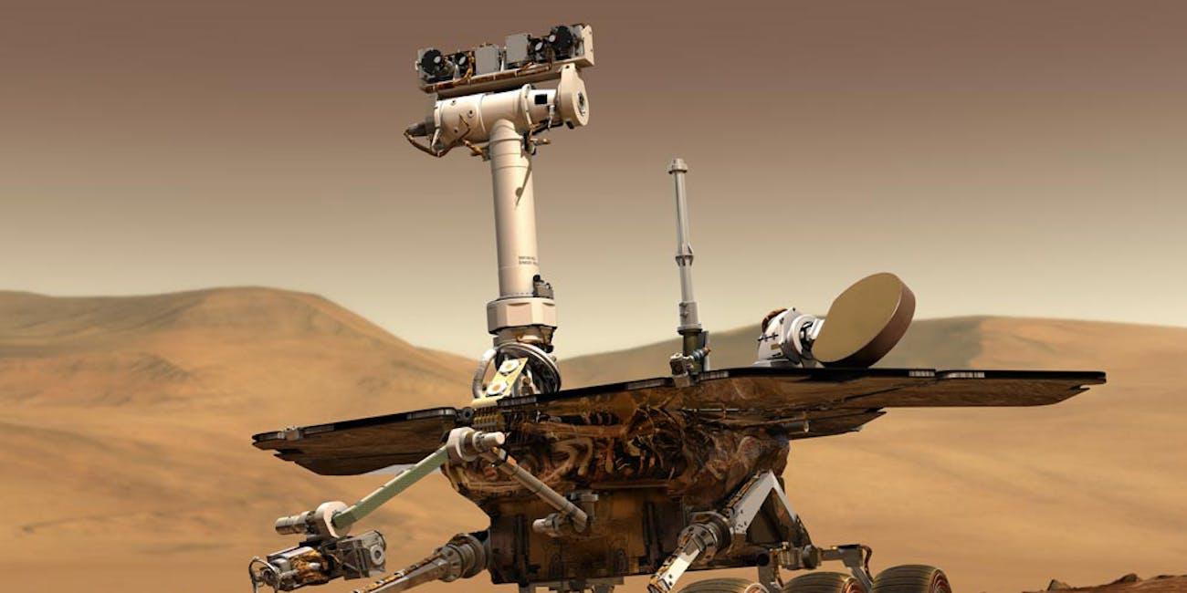 Mars Exploration Rovers, 2003