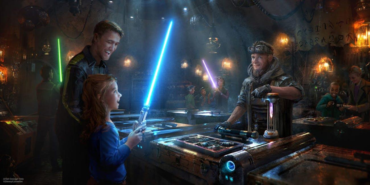 Star Wars Lightsaber Galaxy's Edge