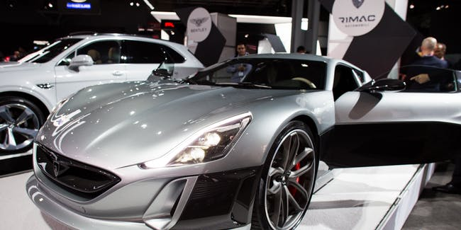 Rimac's all-electric Concept One car could be the future of supercars.