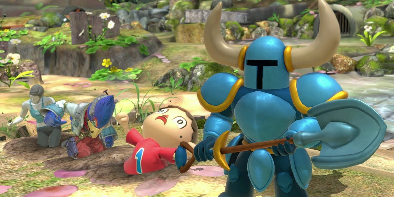 Nintendo Shovel Knight Smash Bros