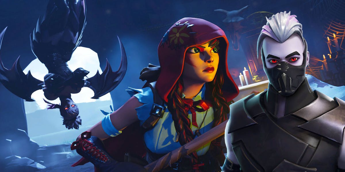 Fortnite Vampire Skin Season 6 Name Halloween Festivities Begin